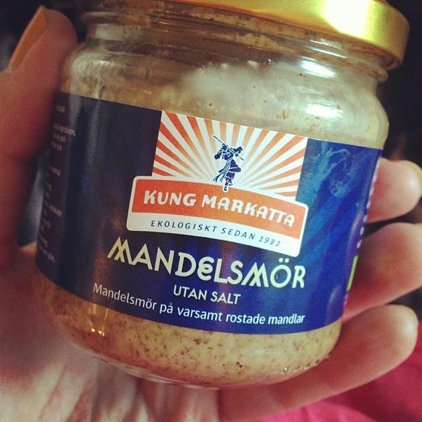 Måste testa! Vad kan man ha mandelsmör till?! #lchf #lchf10veckor