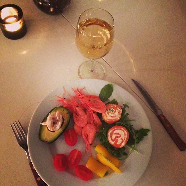 Det här är vad som väntar mig i köket när min lilla treåring somnat om! #lchf #lchf10veckor #lyx