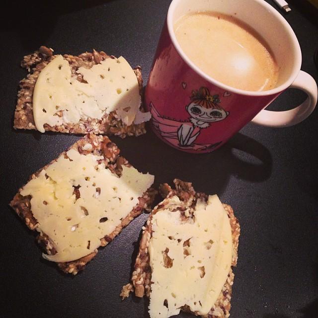 God morgon! #fröknäcke #gräddost #yogite #lchf #lchf10veckor