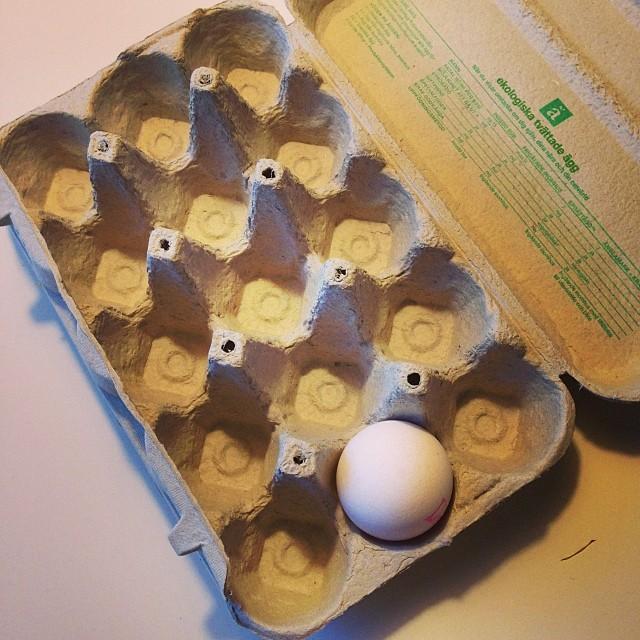 ???????????? bara ett enda ägg kvar?! Hur ska jag nu kunna klara mig? #lchf #lchf10veckor
