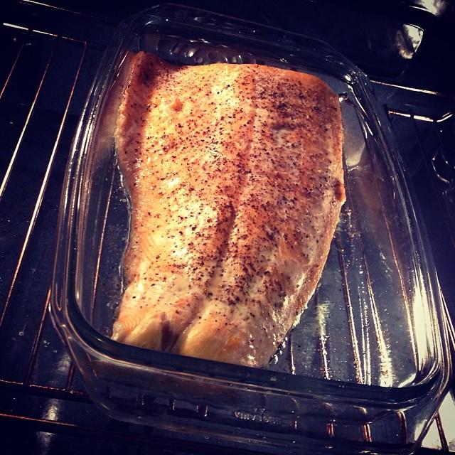 Lax till middag idag #lchf #lchf10veckor #lax #omega3 #fetfisk #fisk