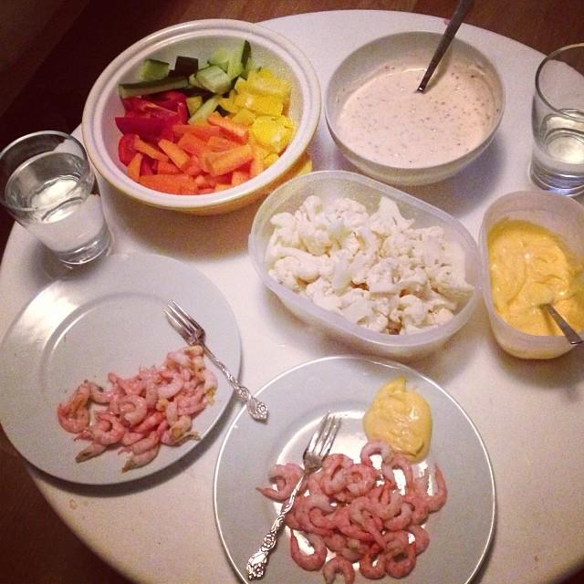 Middag! #lchf #lchf10veckor