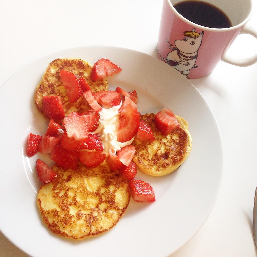 Lyxig frukost