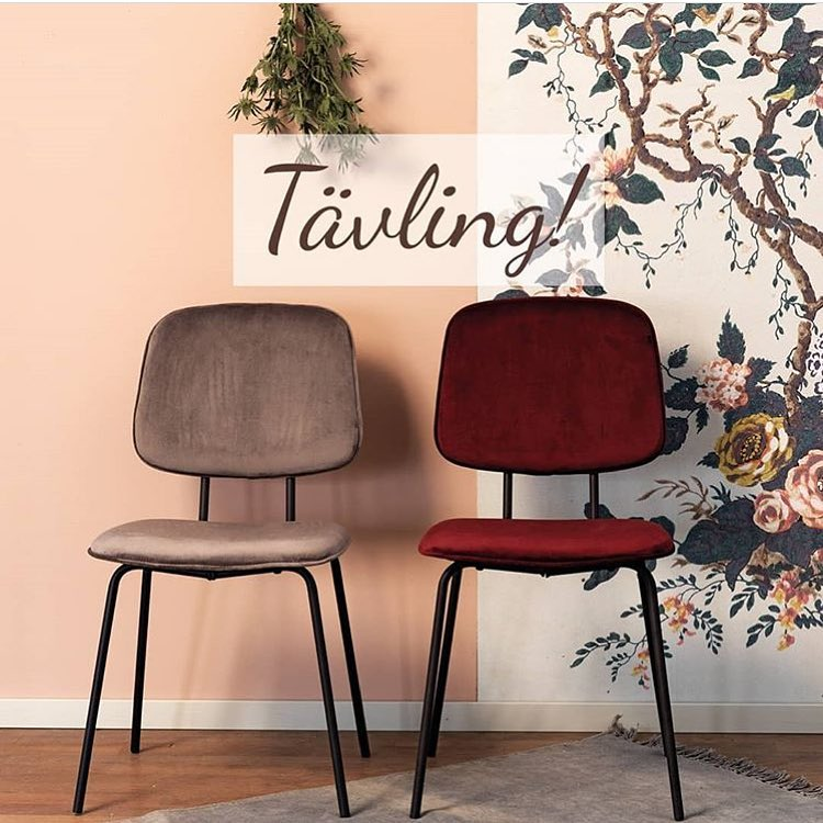 Tävla om dessa snygga stolar på @rowico 👍